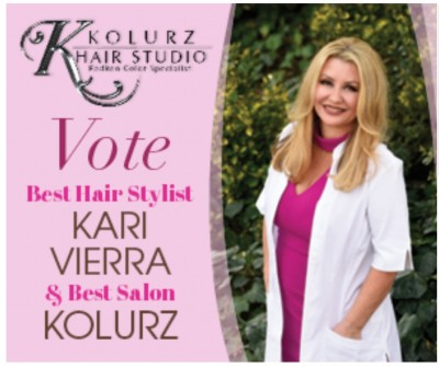 Voted best hair stylist